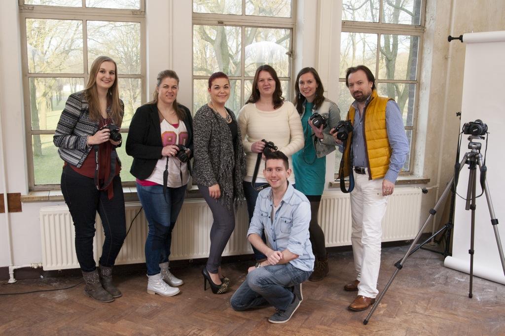 Groepsfoto-workshop